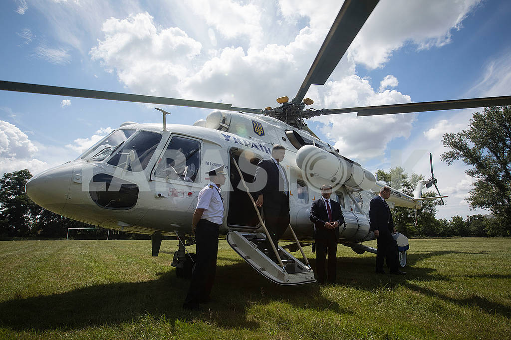 Helicopter of the President of Ukraine — Image 72522