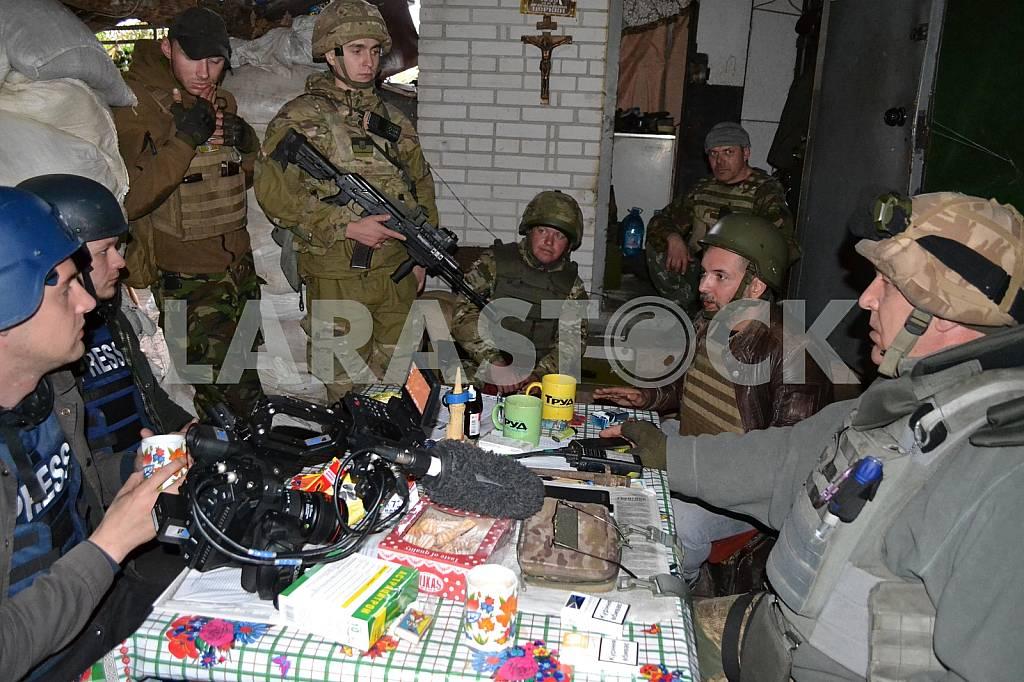 Defenders of the Avdeevskaya industrial zone — Image 38152