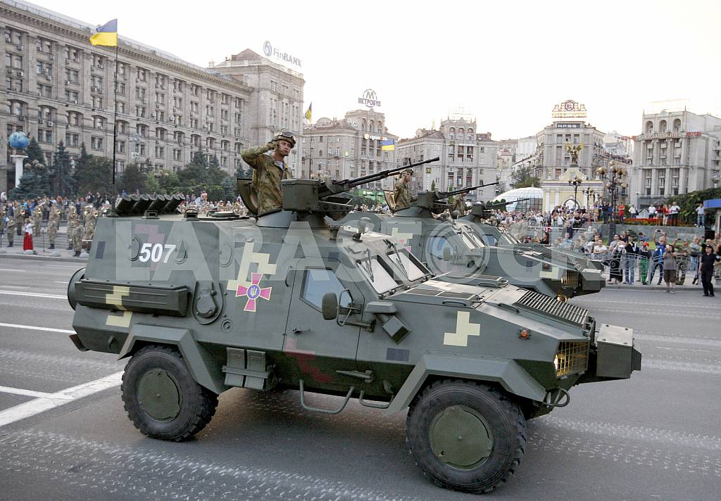 The rehearsal of the military parade in Kiev — Image 34262