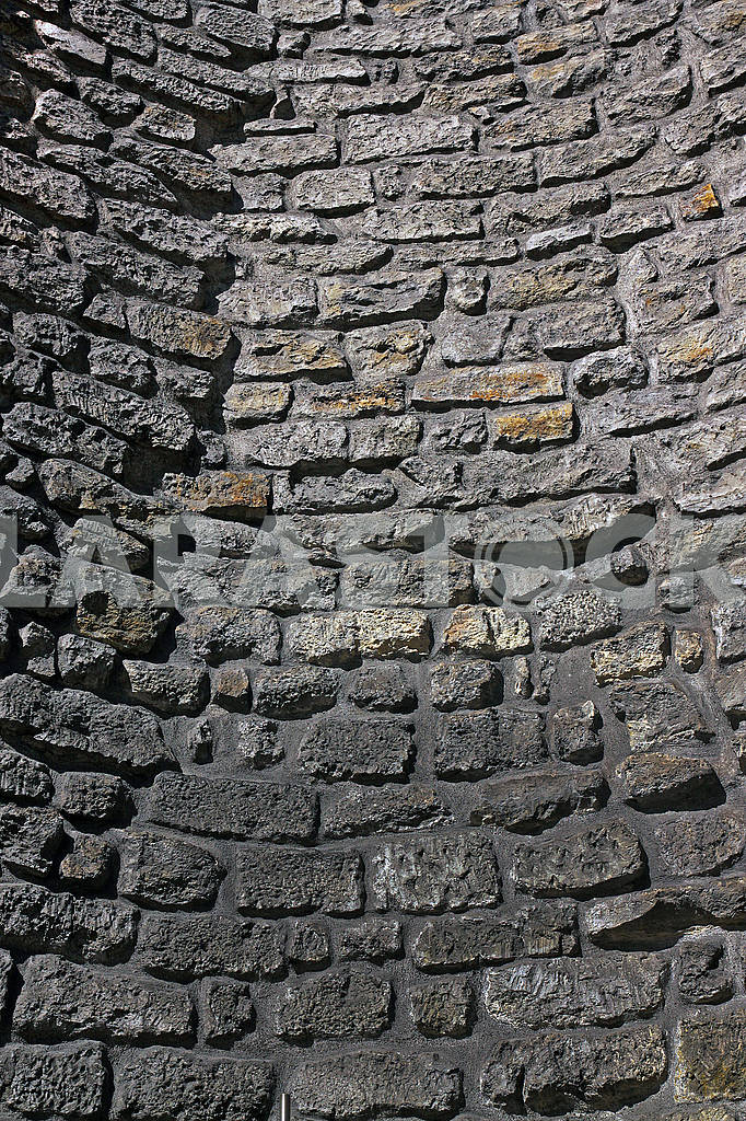 Old stone curved wall — Image 69582