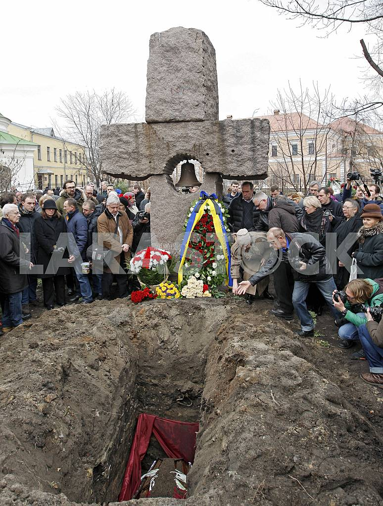 Funeral of Georgiy Gongadze in Kyiv. — Image 28082