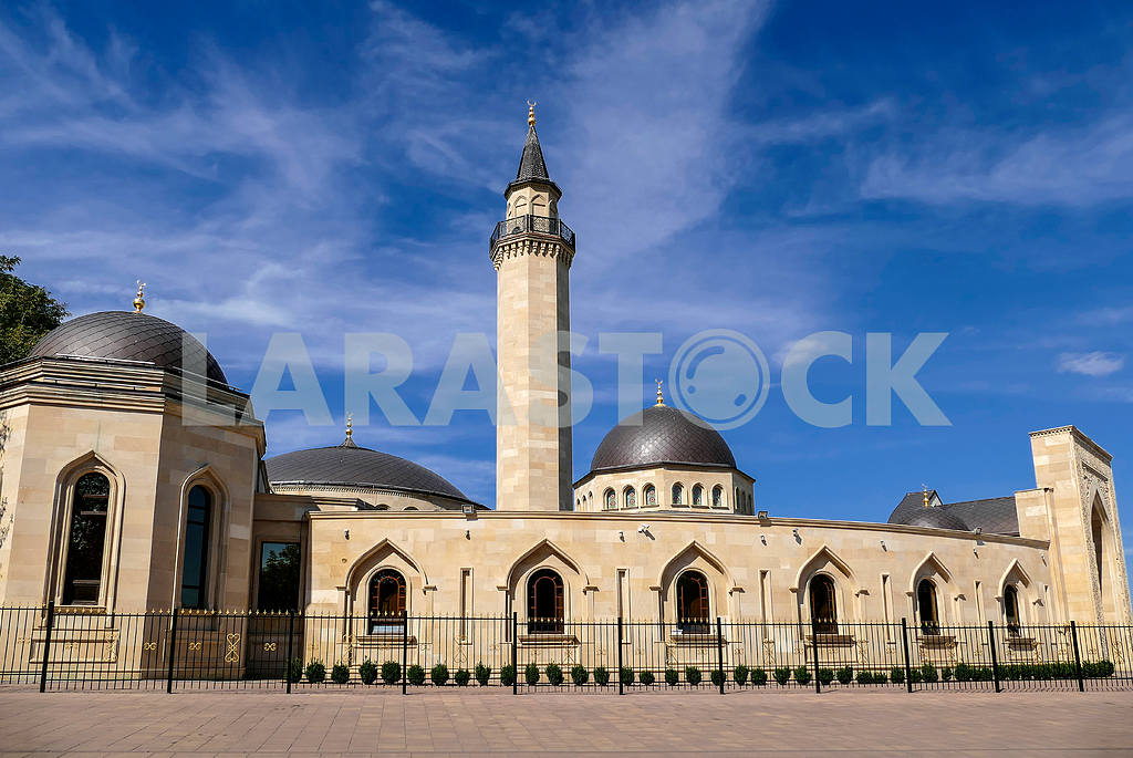 Ar-Rahma - the first mosque in Kiev. It is part of the Islamic complex, which in addition to the Ar-Rahma mosque includes a housing DUMA, Madrasah and minaret. Located on a hillside on Tatarka Schekavitsa and designed for 3 000 people with an area of — Image 11723
