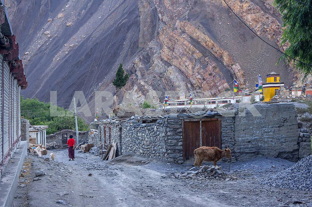 Mountain village in Nepal — Image 49333