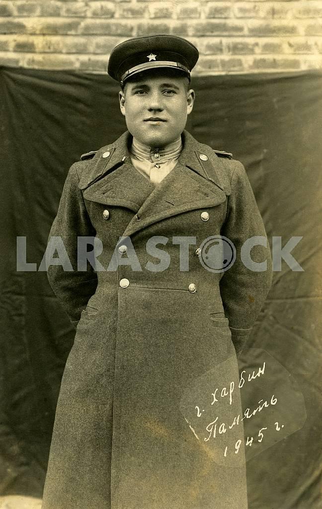 Soviet officer in Harbin — Image 26353