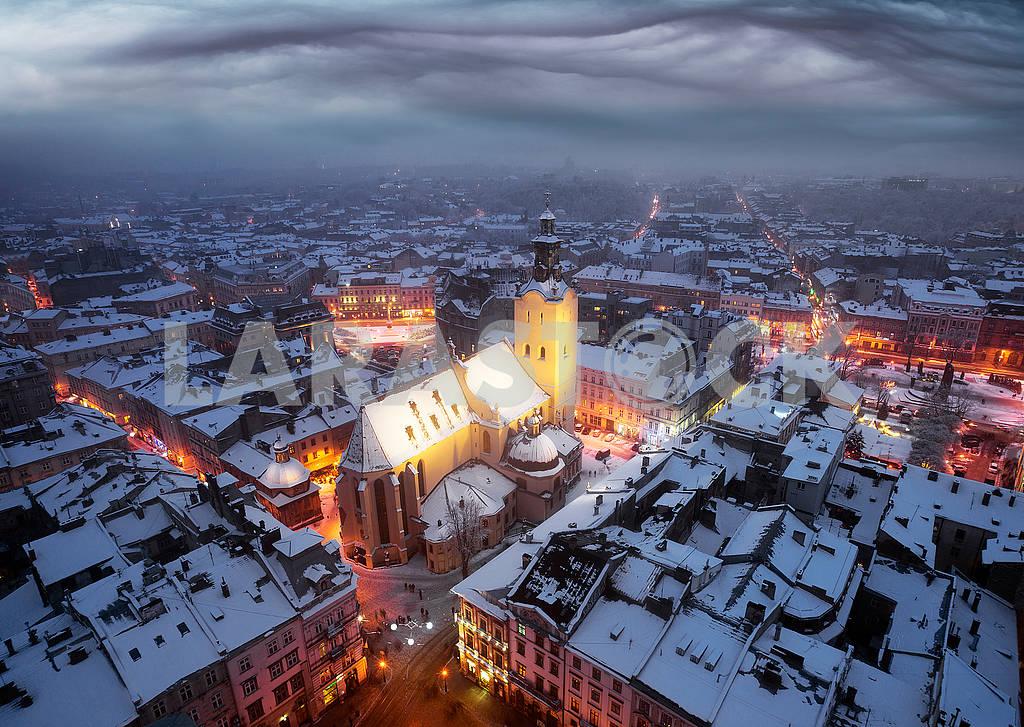 Snowy Christmas Lviv — Image 70663