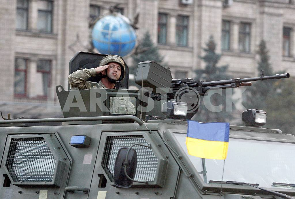 The rehearsal of the military parade in Kiev — Image 34263