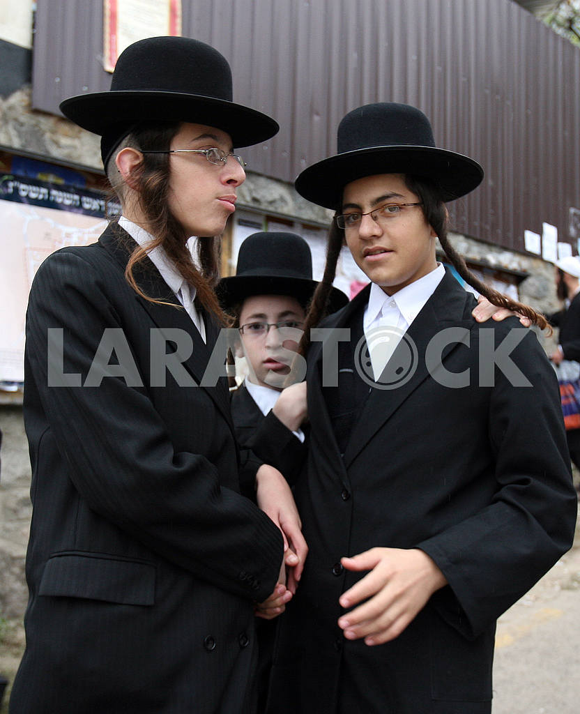 Children Hasidim in Uman — Image 33593