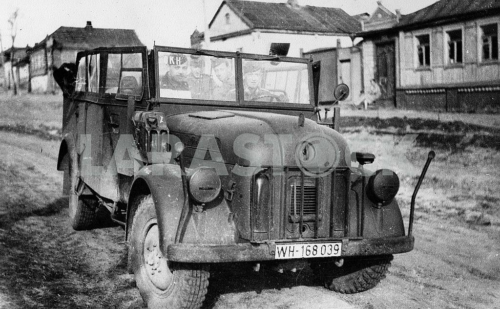 German soldiers in truck — Image 22404