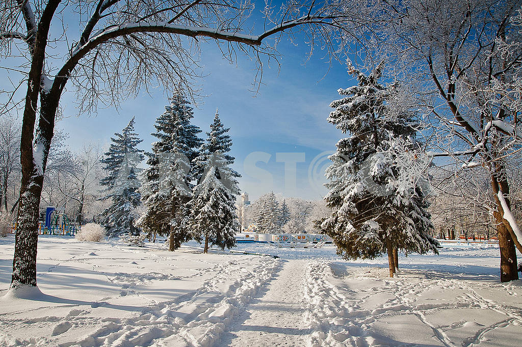 Winter in Kramatorsk — Image 49004