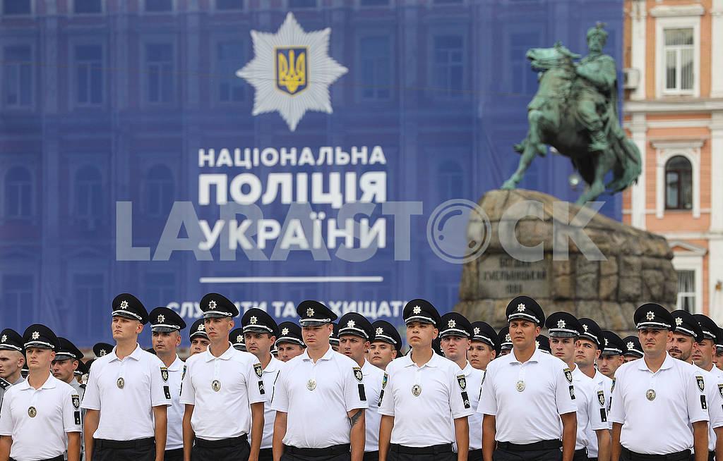 Police on Sofia's Square — Image 72524