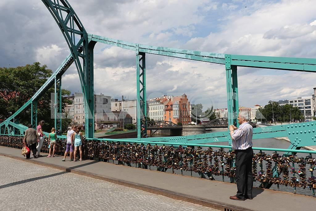 Tumski Bridge. Wroclaw — Image 32554