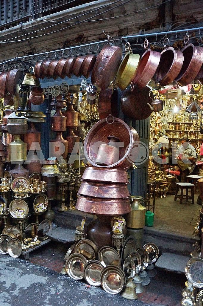 Souvenir shop. Nepal, Kathmandu — Image 22654
