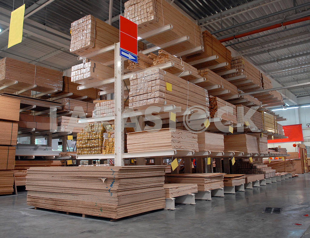 Warehouse of building materials — Image 2954
