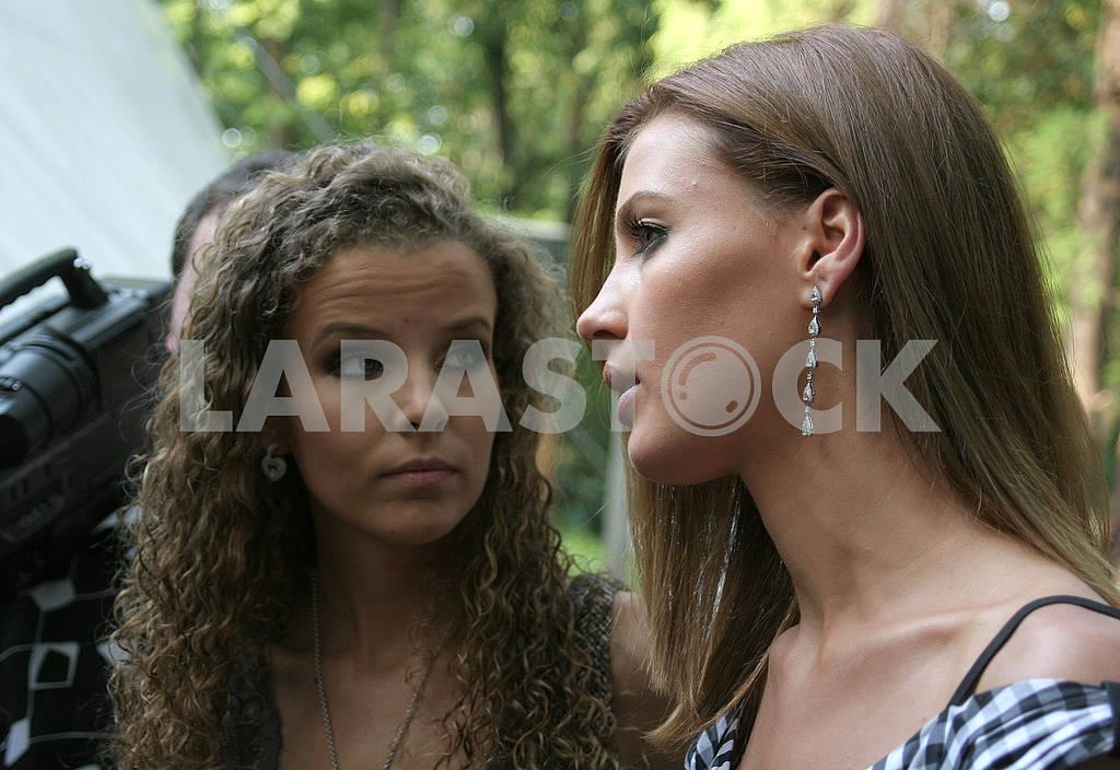 Inna Tsimbalyuk and Alexandra Nikolayenko — Image 57474