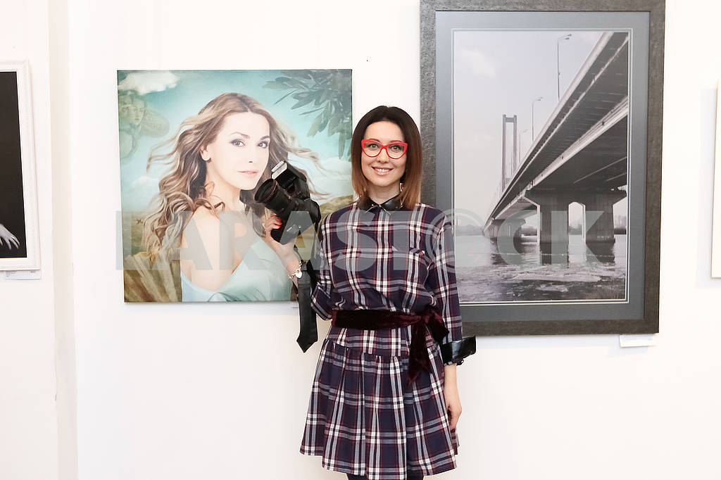 "Photo artist Julia Savenko presented the work ""The Birth of Venus"" at the Ukrainian Art Week. — Image 69284"