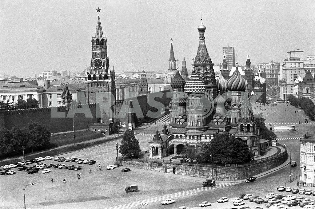 Moscow Red Square, and the temple Wasi — Image 23694