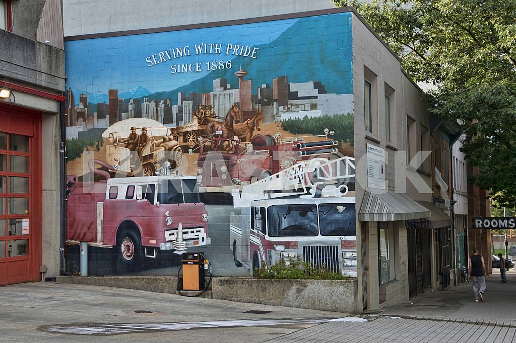 Fire Hall No. 2.  Vancouver, Canada — Image 33694