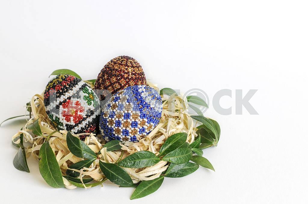 Пасхальные яйца в корзине — Изображение 26794