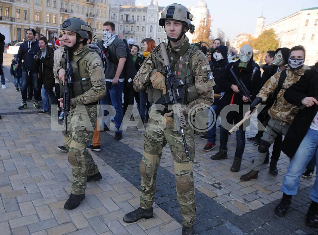 Zombie parade in Kiev — Image 45094