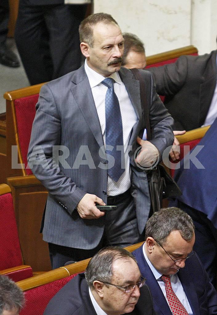 The meeting of the Verkhovna Rada of Ukraine. — Image 22394