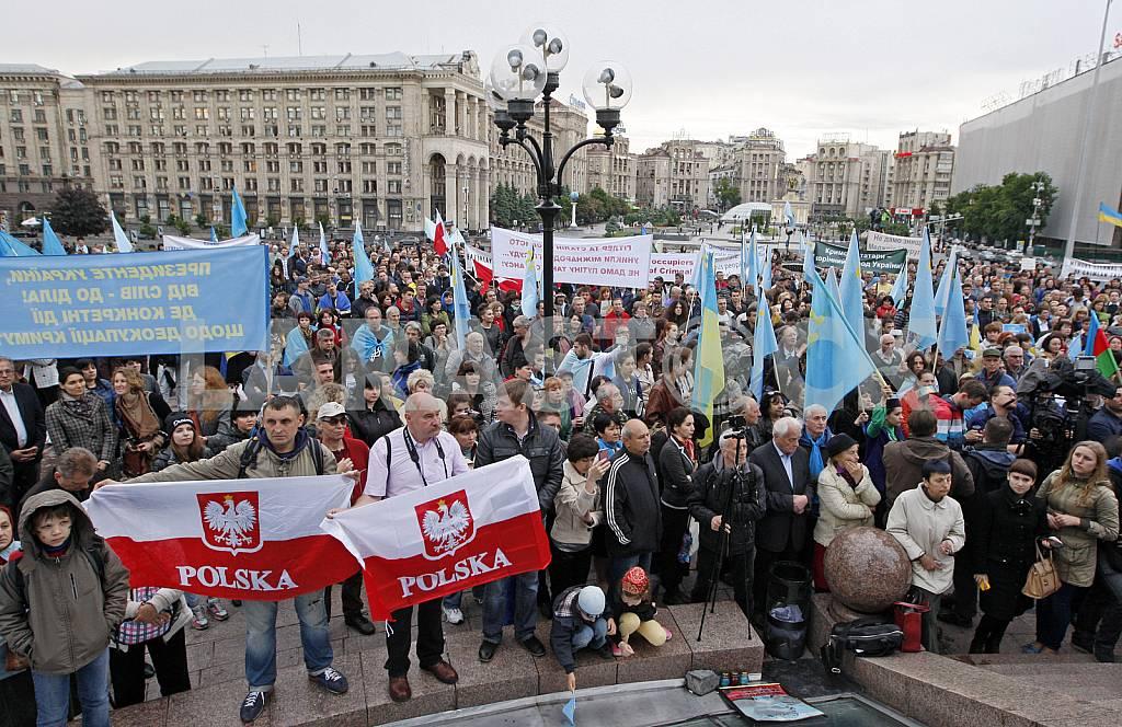 Митинг к годовщине депортации крымских татар — Изображение 29825