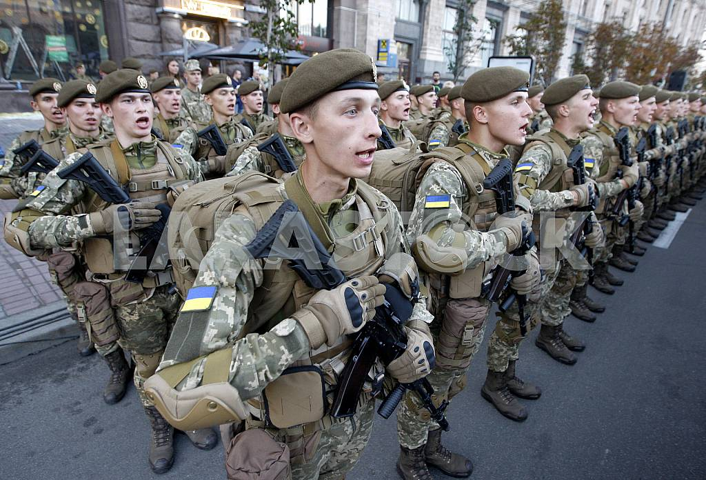 The rehearsal of the military parade in Kiev — Image 34245