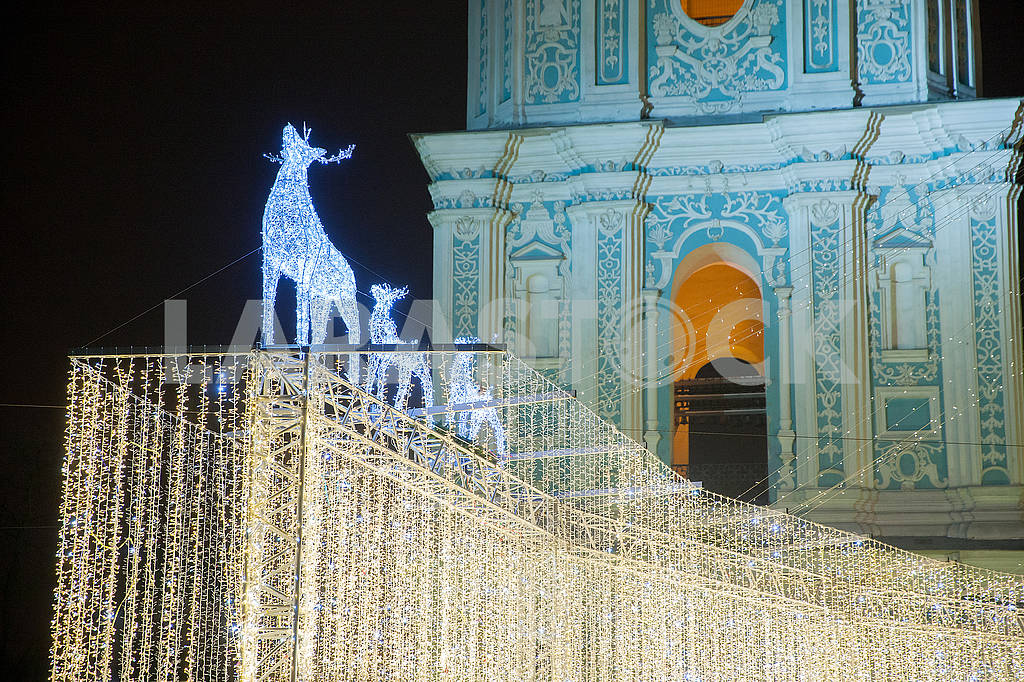 Celebrating the New Year in the center of Kiev on the night from December 31st to January 1st. — Image 67355