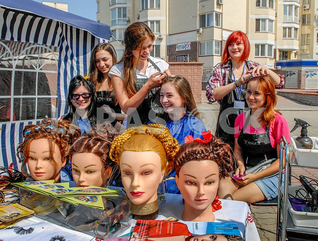Competition for young hairdressers 2013 — Image 36285