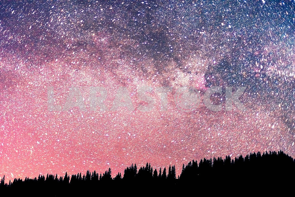 Starry sky above the earth — Image 68306