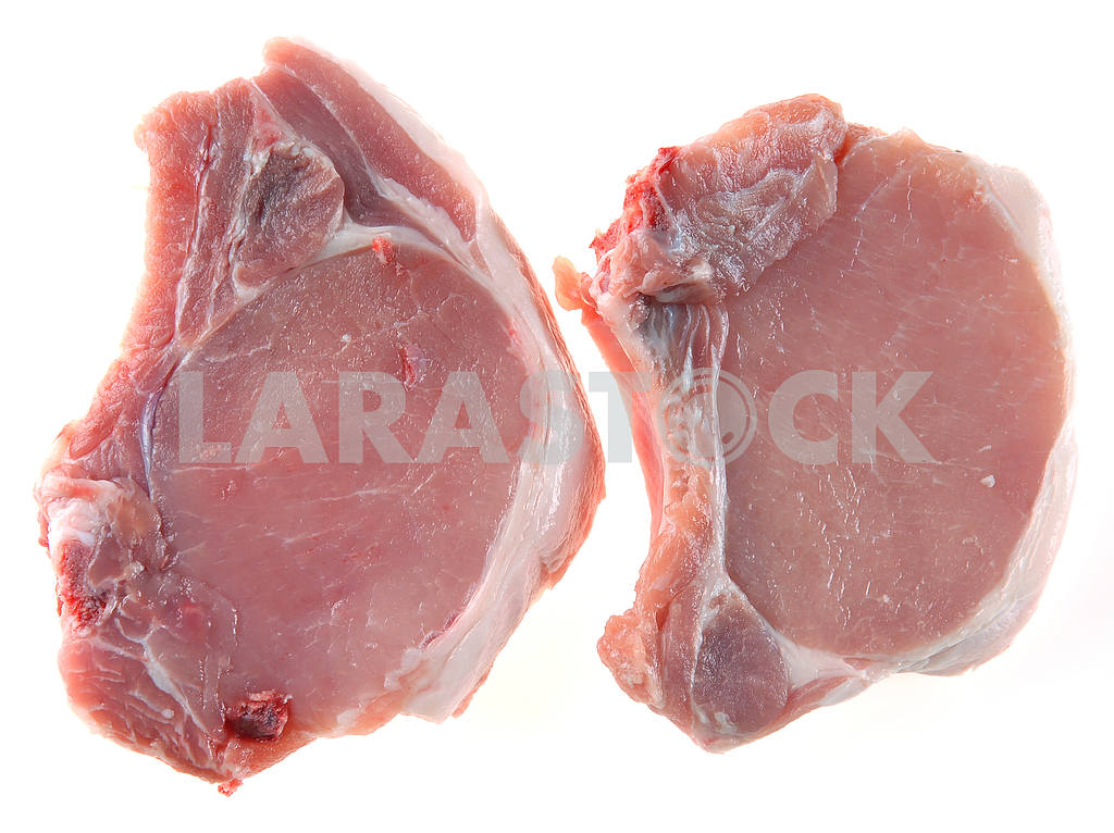 Pork steak with a stone — Image 3016