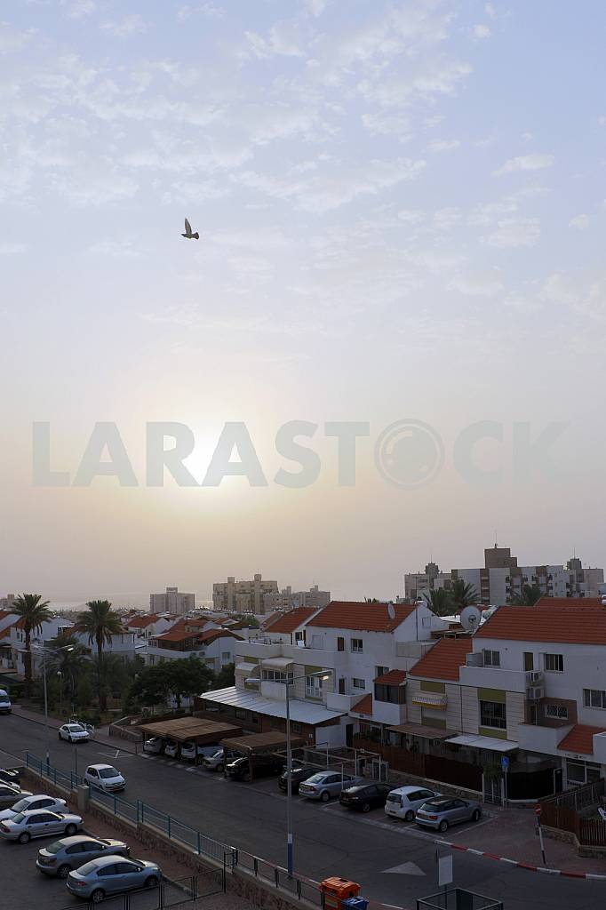 Residential complex in Eilat in the morning — Image 30226