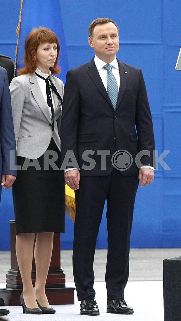 Andrzej Duda and Agatha Kornhauser Duda — Image 34736
