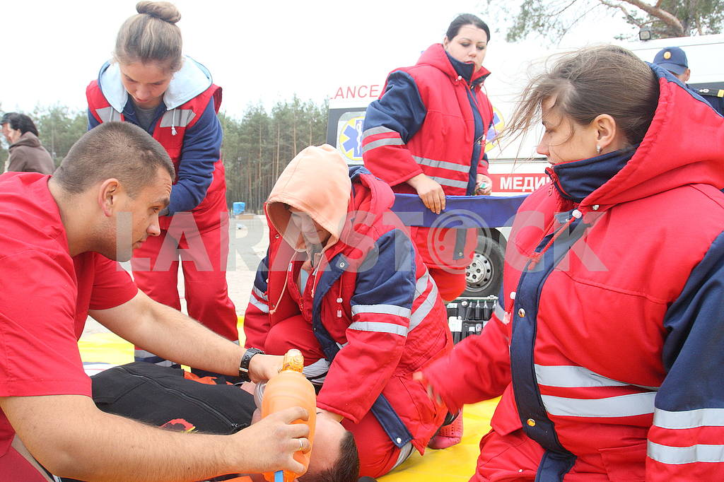 Exercises of rescuers SSE — Image 62836