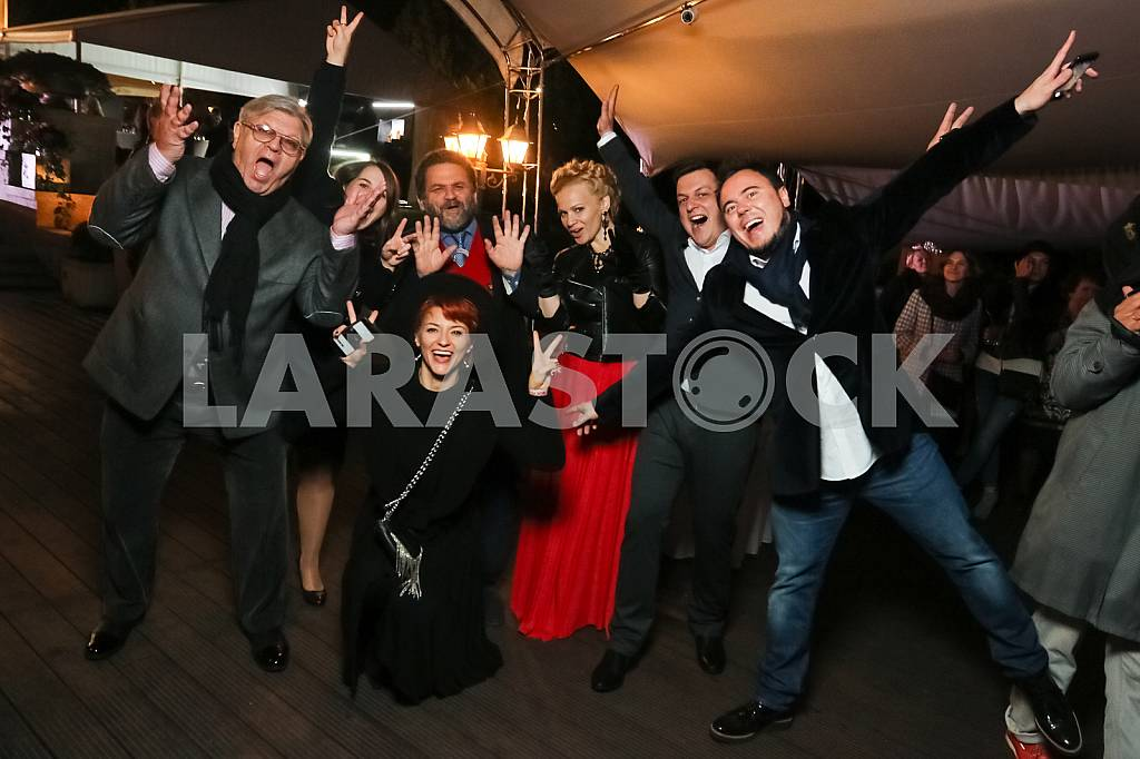 "Ilya November with his wife, Valery Chiglyaev on the 10th anniversary of the magazine ""Focus"" — Image 37676"