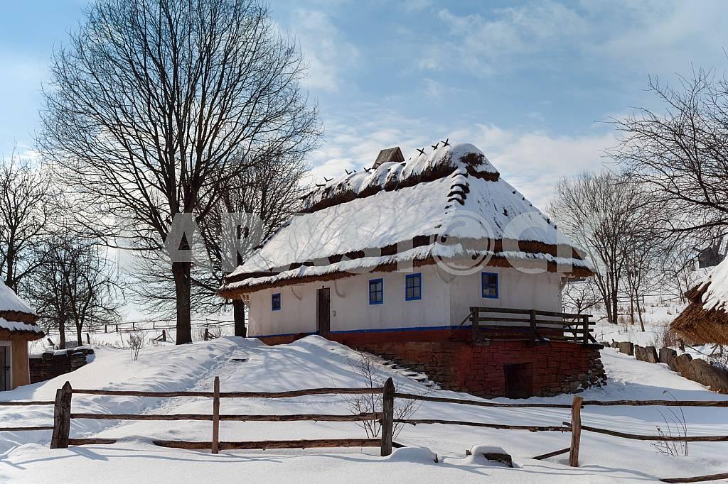 Village at Christmas - eco house — Image 22596