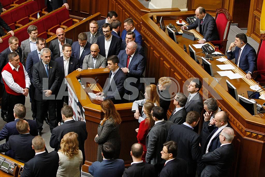 Verkhovna Rada Session — Image 28307