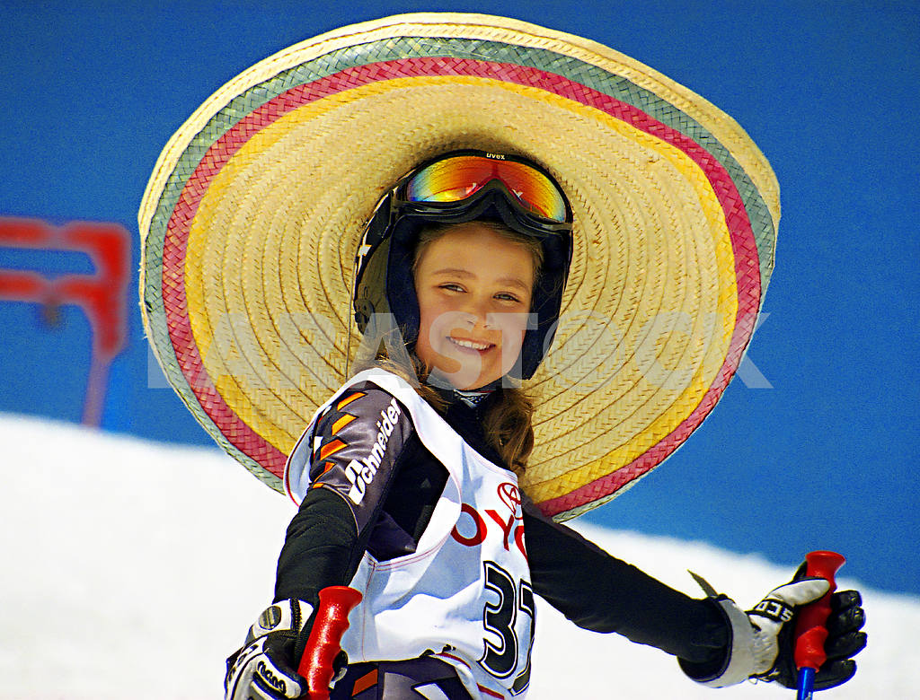 Girl in a sombrero — Image 47937