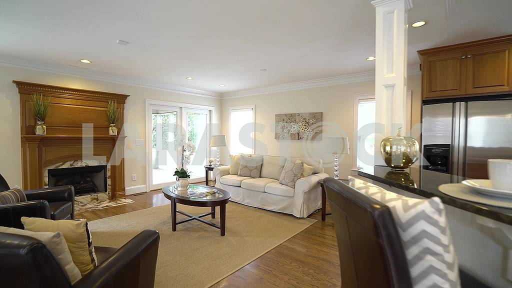 A house or apartment with a pleasant atmosphere motivates comfortable living. — Image 59937