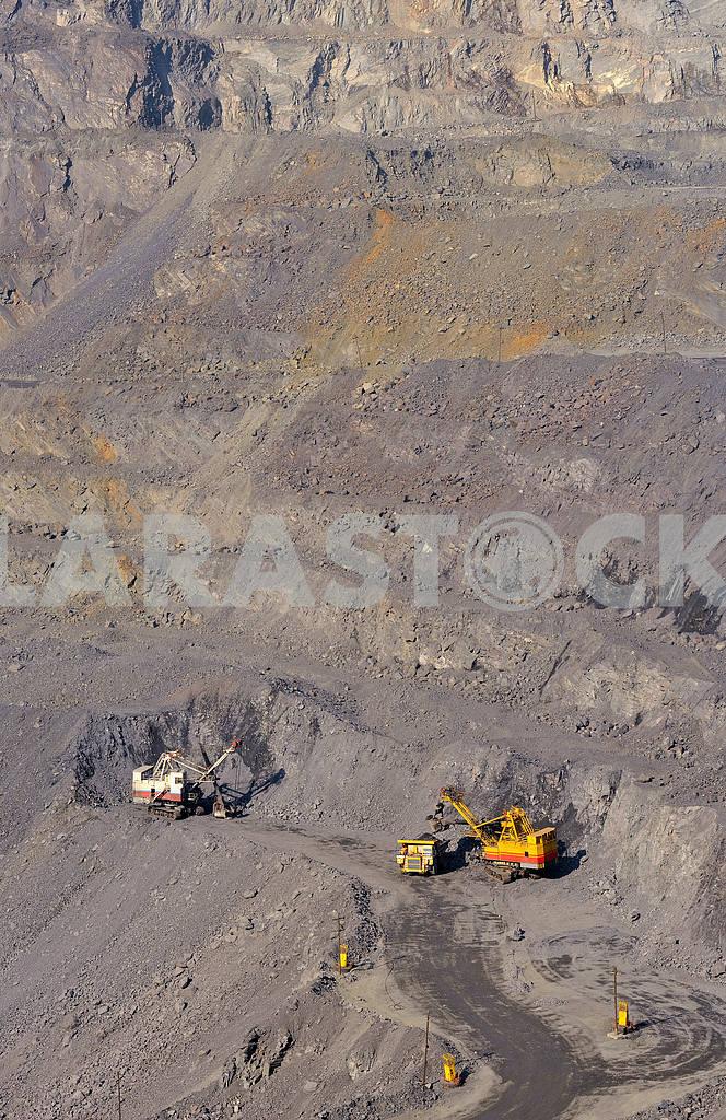 open-cast mine of iron ore — Image 18657
