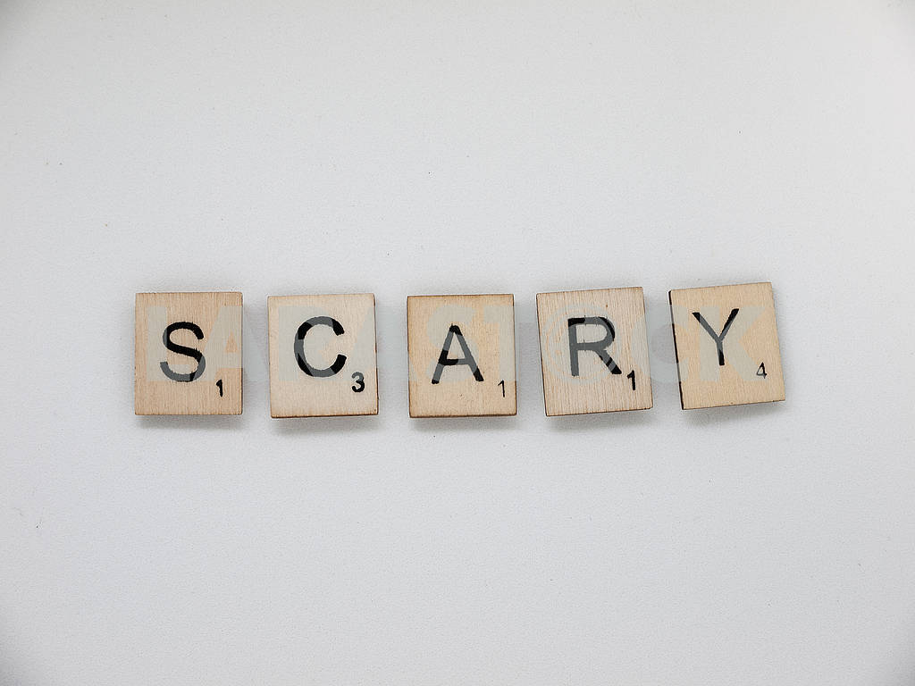 Scrabble Tiles: Scary — Image 61967