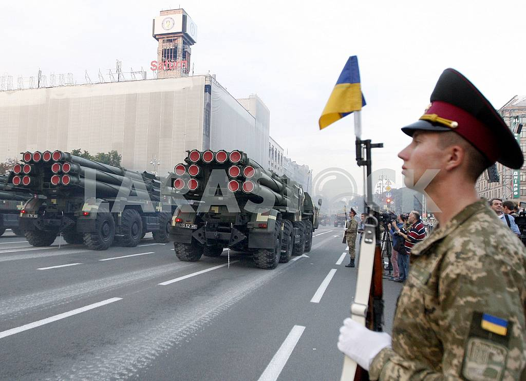 The rehearsal of the military parade in Kiev — Image 34267