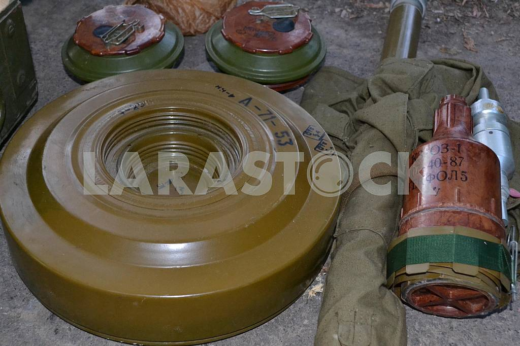 Mines in the cache and taken separatists ammunition — Image 35977