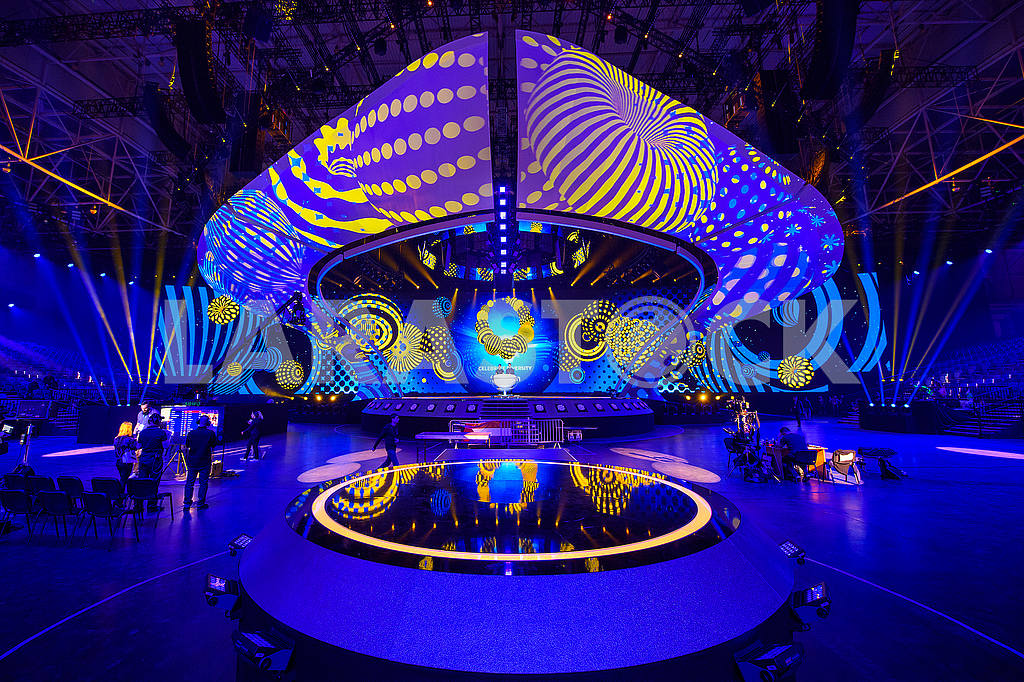 Eurovision stage at the IEC — Image 55077