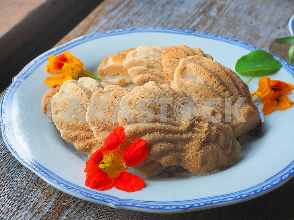 Печенье на тарелке — Изображение 75238