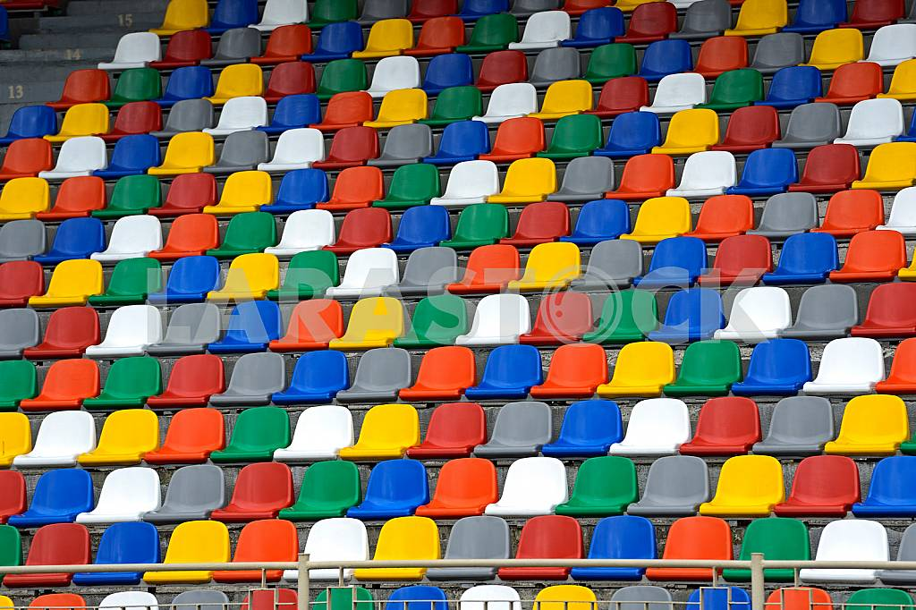 Seats in stadium — Image 24148