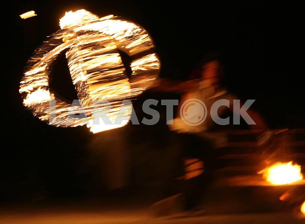 Fire show in Kiev — Image 38058