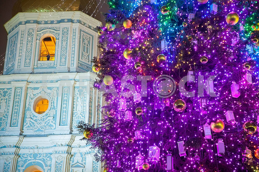 Celebrating the New Year in the center of Kiev on the night from December 31st to January 1st. — Image 67358