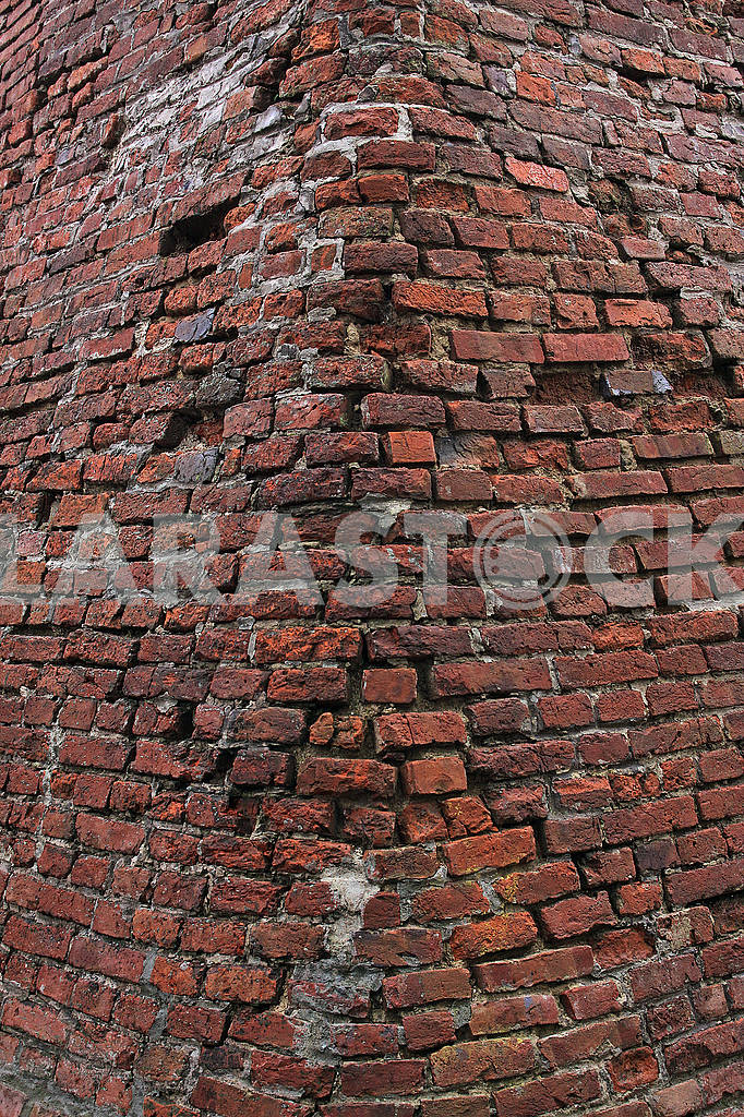 Old red brick wall — Image 68368