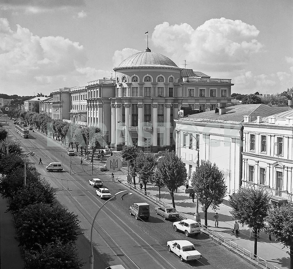 Vinnitsa, Cathedral Street, the end of 90 - ies — Image 5678