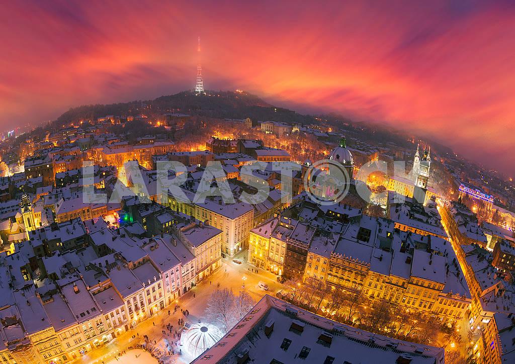 Snowy Christmas Lviv — Image 70498